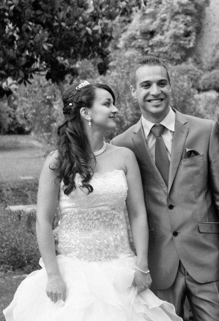 photographe mariage, photo mariage, photo noir et blanc, mariage, mariés