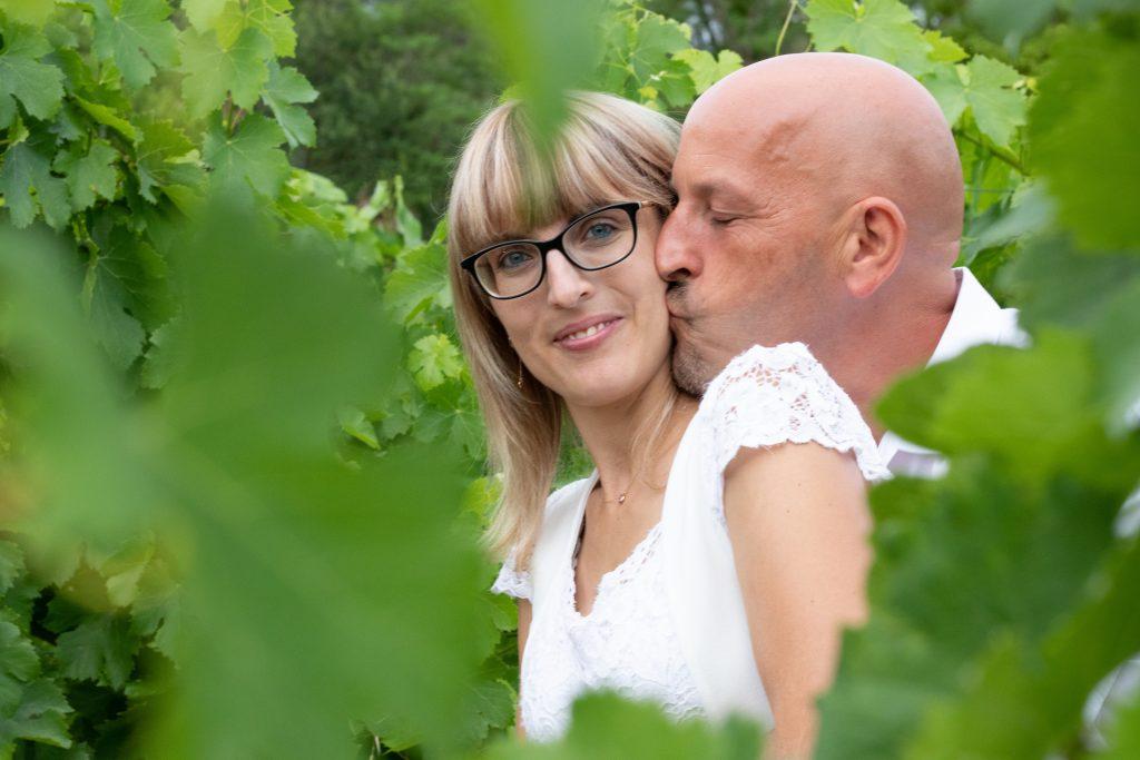 Couple, séance engagement