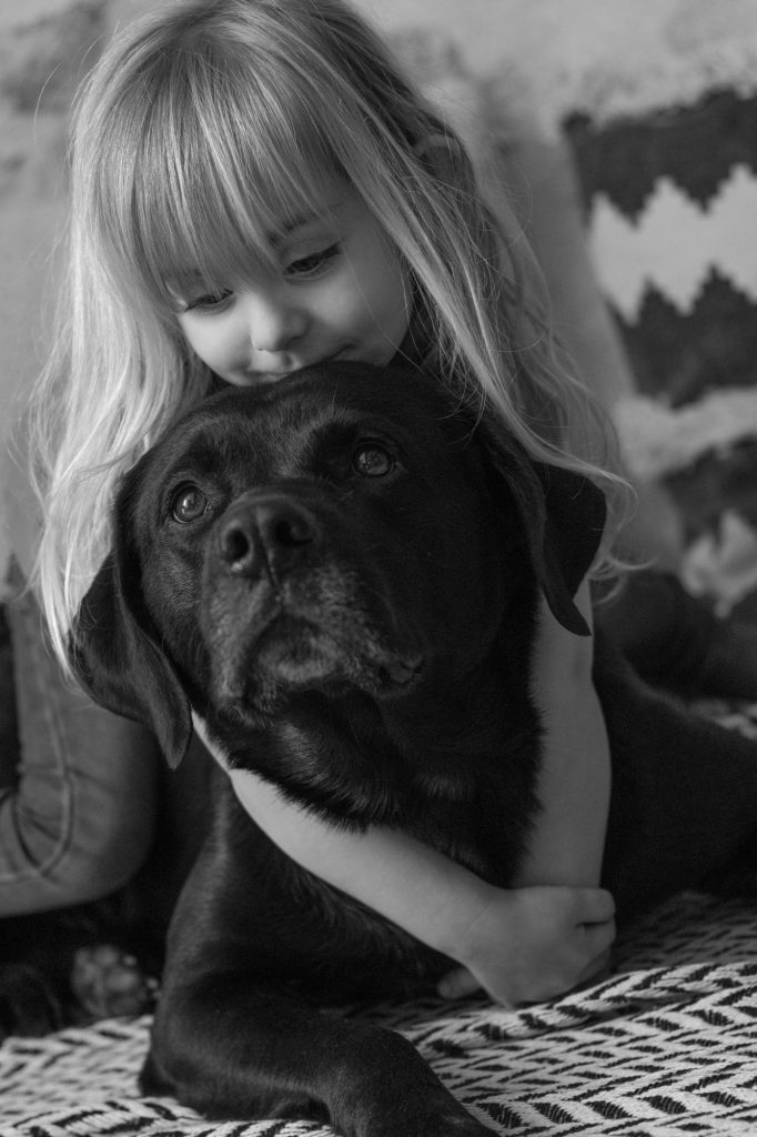 animal, chien, enfants