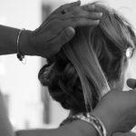préparatifs mariée, coiffure de la mariée