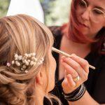maquillade préparatifs mariage