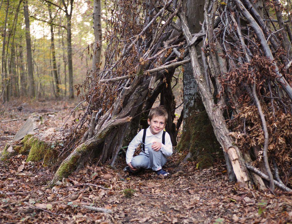 enfant lifestyle forêt