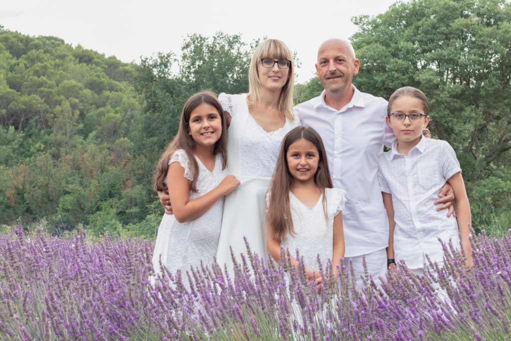 Séance photo famille Lorgues