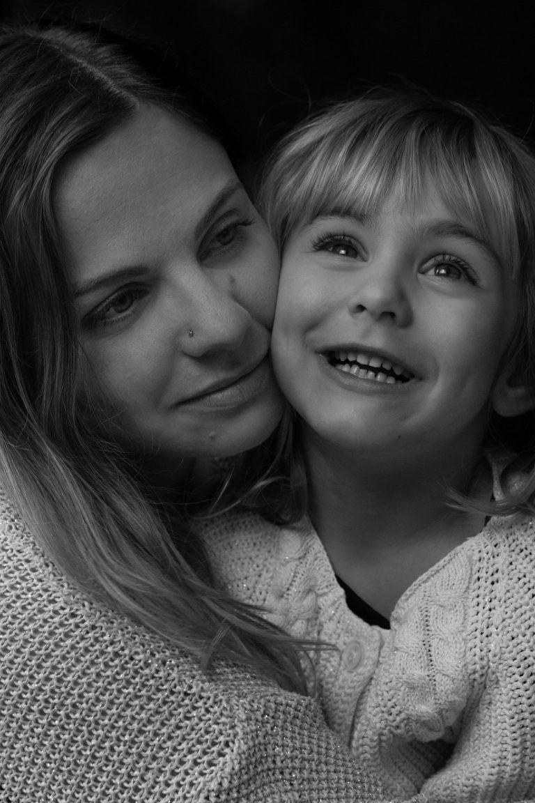 portrait mère fille à lorgues