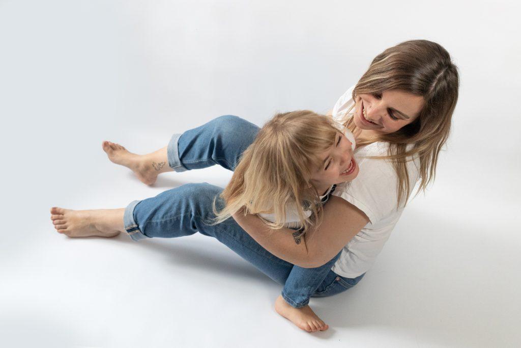photo mère fille dans le var